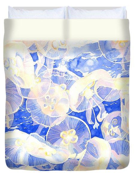 Jellyfish Jubilee Duvet Cover