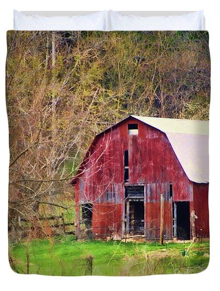 Jemerson Creek Barn Duvet Cover by Cricket Hackmann