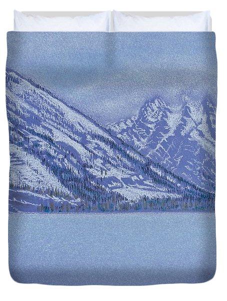 Jenny Lake - Grand Tetons Duvet Cover