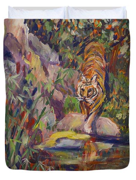 Jerrys Tiger Duvet Cover