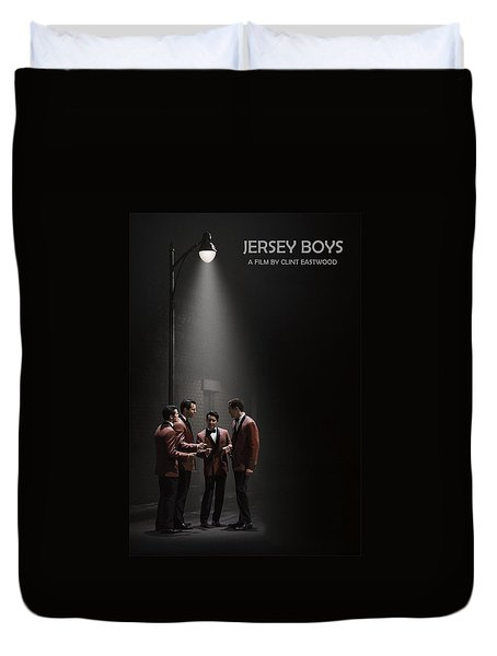 Jersey Boys By Clint Eastwood Duvet Cover