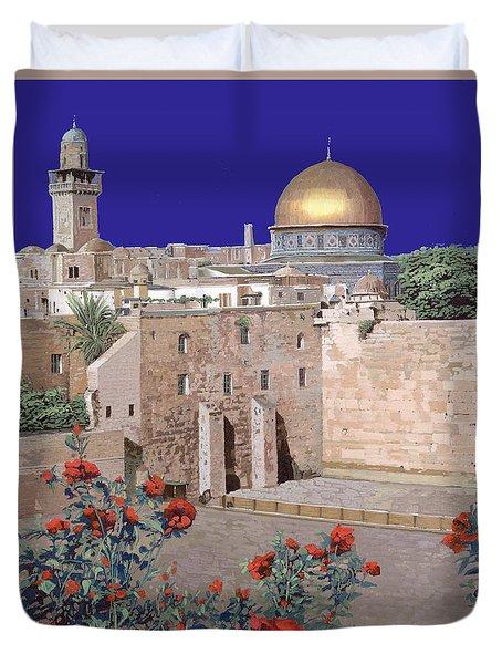 Jerusalem Duvet Cover by Guido Borelli