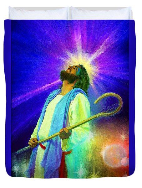 Jesus Rocks Duvet Cover