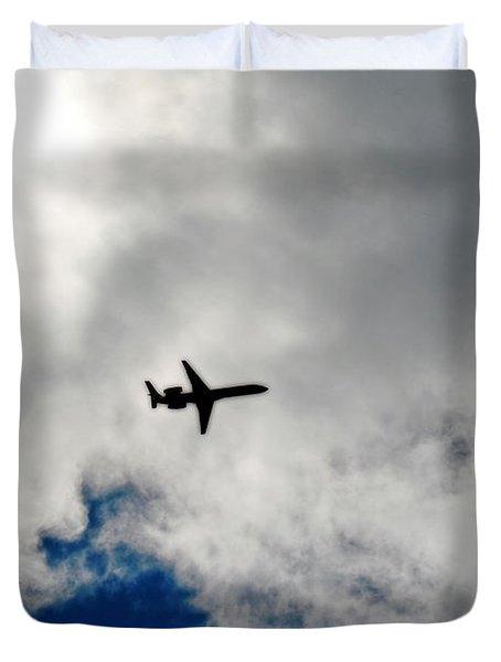 Jet Airplane Duvet Cover