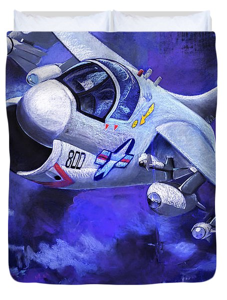 Jet Fighter Duvet Cover