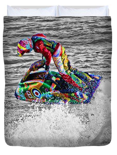 Jet Ski Duvet Cover
