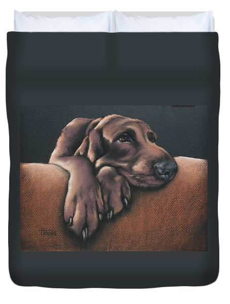 Jethro Duvet Cover by Cynthia House