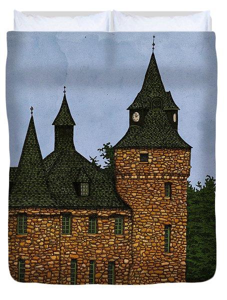 Jethro's Castle Duvet Cover