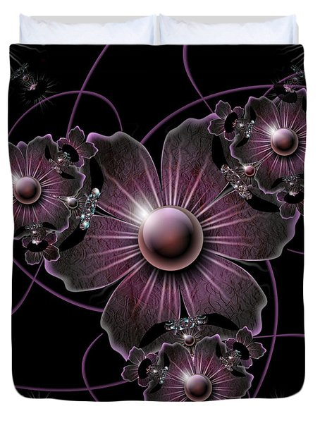Jewel Of The Night Duvet Cover