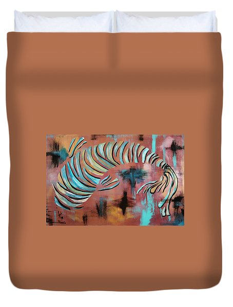 Jewel Of The Orient Duvet Cover