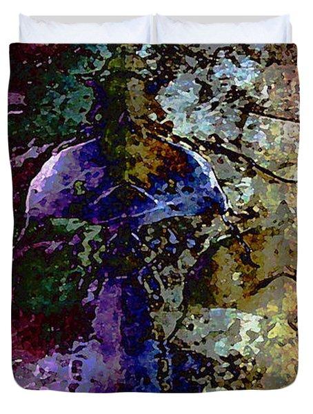 Jewel Tones Duvet Cover