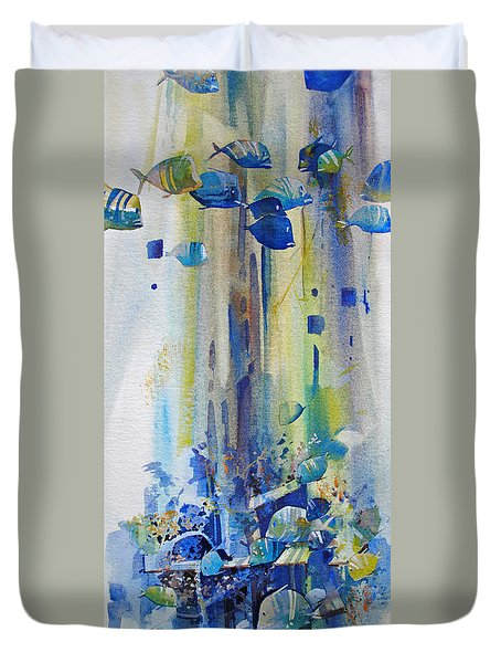Jewels Of The Islands Duvet Cover
