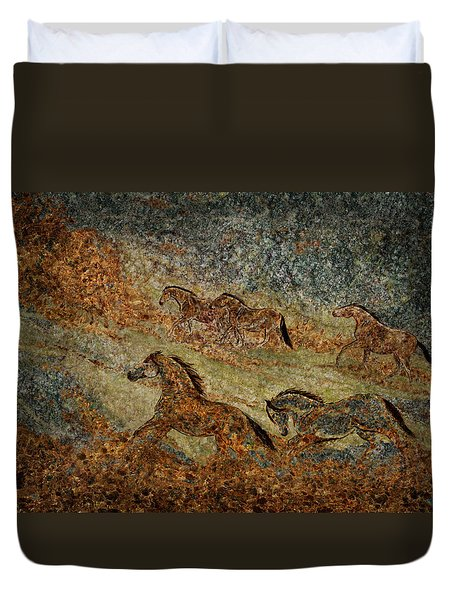 Jewels Of The Nile Duvet Cover
