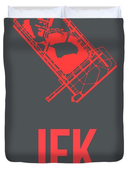 Jfk Airport Poster 2 Duvet Cover