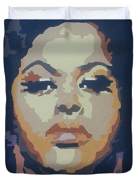 Jill Scott Duvet Cover