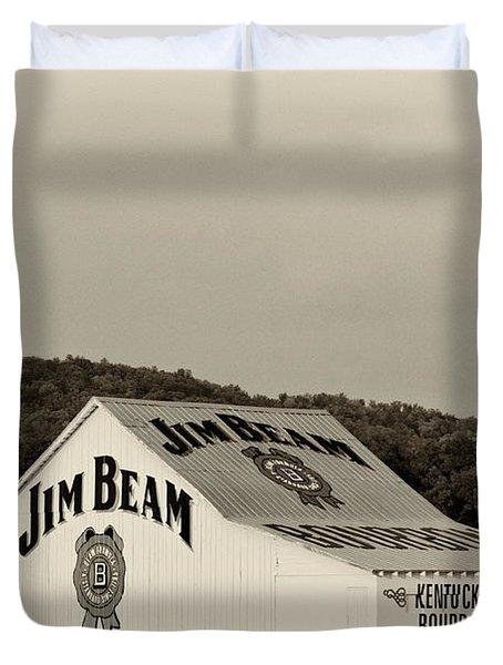Jim Beam - D008291-bw Duvet Cover