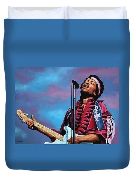 Jimi Hendrix 2 Duvet Cover