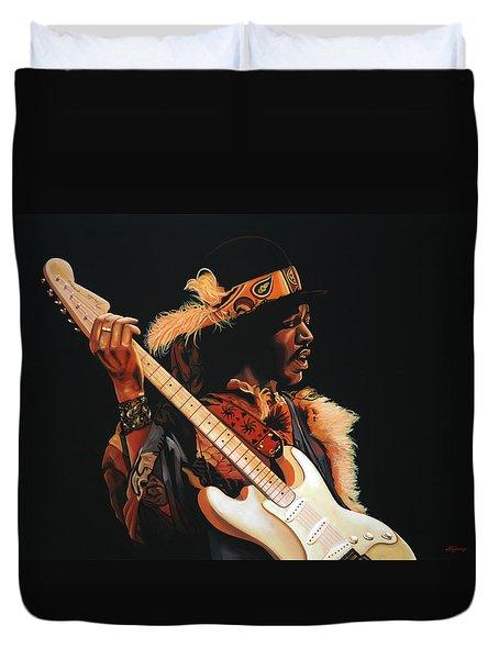 Jimi Hendrix 3 Duvet Cover