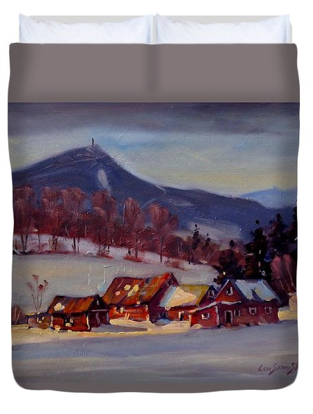 Jimmie's Place Duvet Cover
