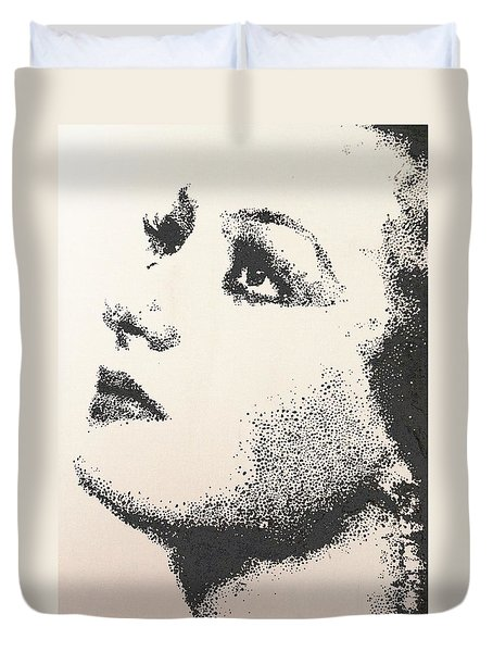 Joan Crawford Duvet Cover