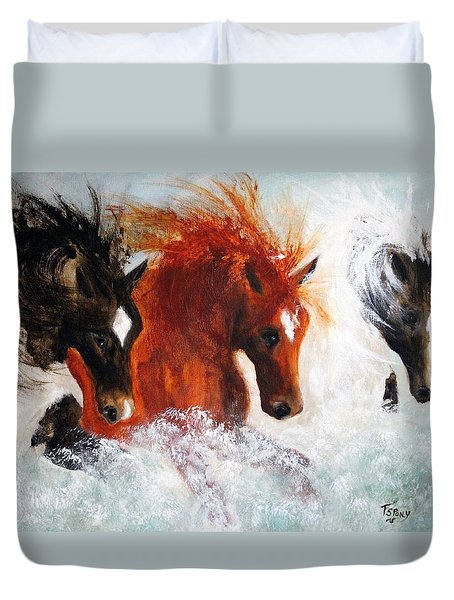 Joe Tj Apache Duvet Cover
