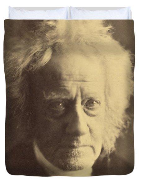 John Frederick William Herschel 1867 Duvet Cover by Getty Research Institute