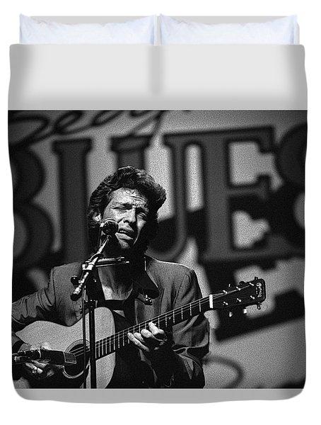 John Hammond Blues Duvet Cover
