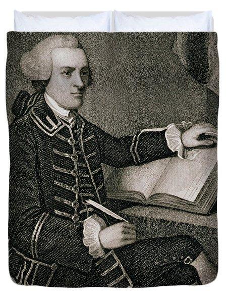 John Hancock Duvet Cover