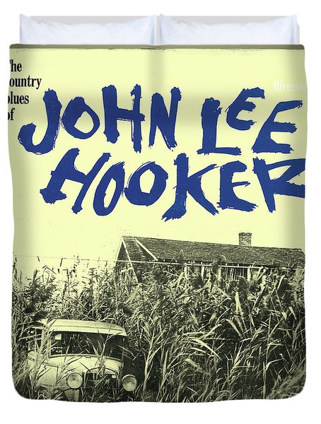 John Lee Hooker -  The Country Blues Of John Lee Hooker Duvet Cover