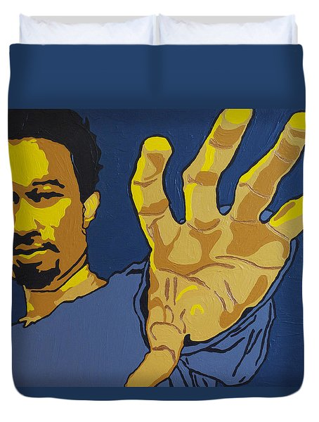 John Legend Duvet Cover