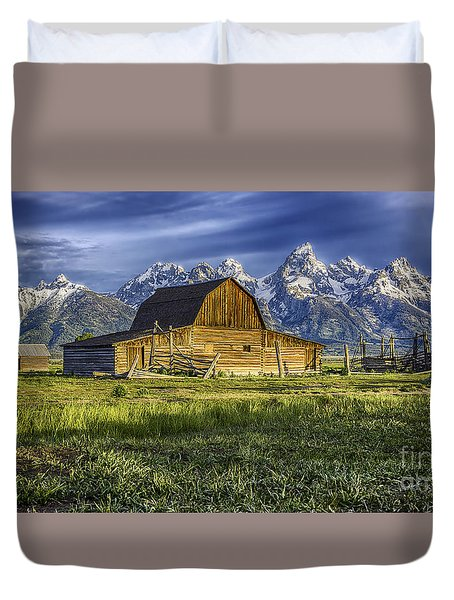 John Moulton Barn Duvet Cover