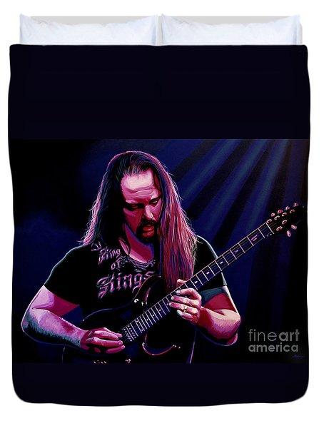 John Petrucci Painting Duvet Cover