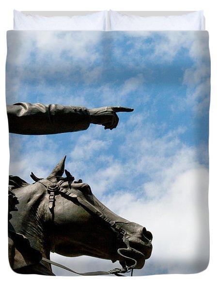 John Reynolds - Gettysburg General Duvet Cover
