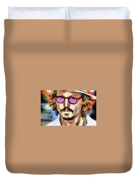 Johnny Depp Actor Duvet Cover