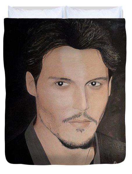 Johnny Depp - The Actor Duvet Cover