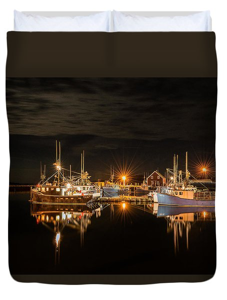 John's Cove Reflections - Revisited Duvet Cover
