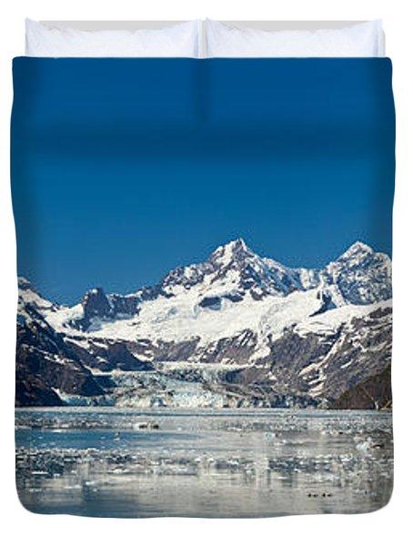 Johns Hopkins Glacier In Glacier Bay Duvet Cover