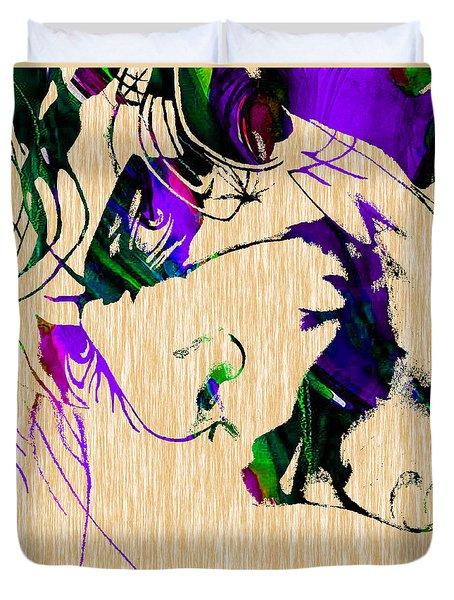 Joker Collection Duvet Cover by Marvin Blaine