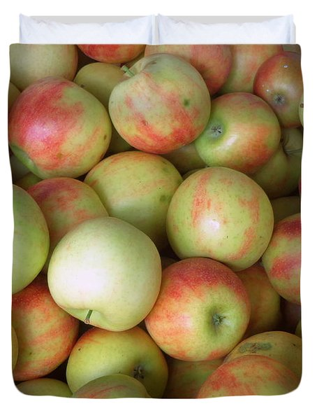 Jonagold Apples Duvet Cover