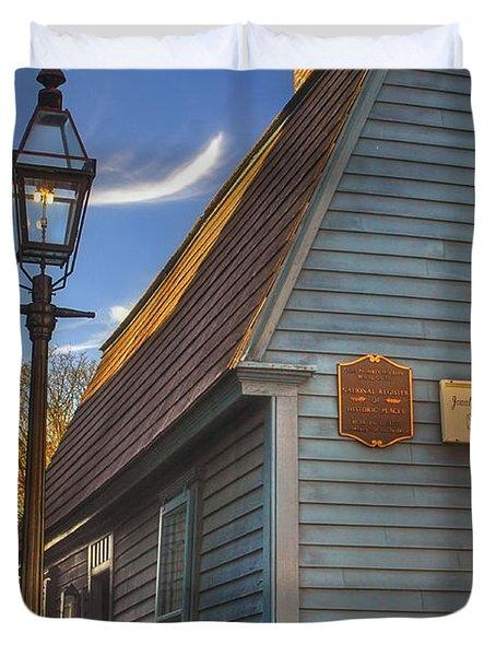 Jonathan Gibbs House Duvet Cover by Joann Vitali