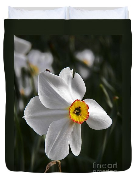 Jonquil Duvet Cover by Judy Via-Wolff