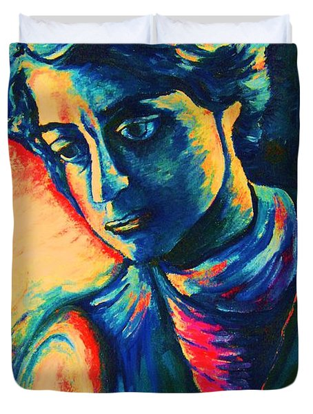 Joseph The Dreamer Duvet Cover by Carole Spandau