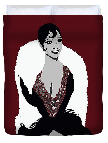 Josephine Baker A Class Act Circa 1920 Duvet Cover