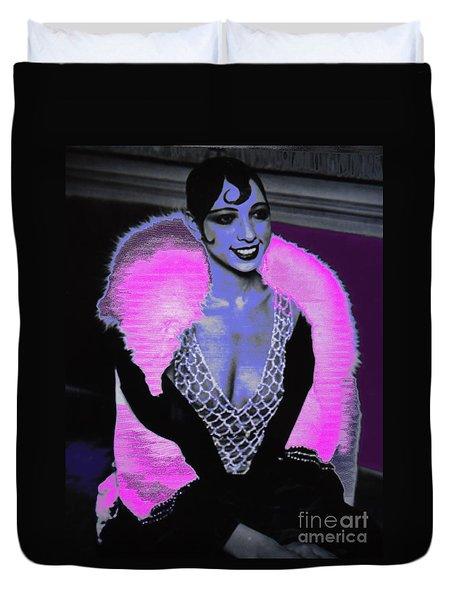 Josephine Baker The Original Flapper Duvet Cover
