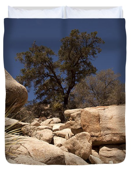 Joshua Tree Duvet Cover by Amanda Barcon