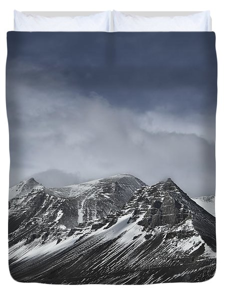 Journey Into The Realms Above Duvet Cover