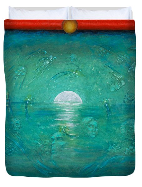 Journey Of The Soul Duvet Cover