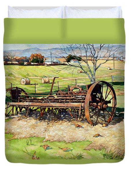 Joy Of Rust Duvet Cover