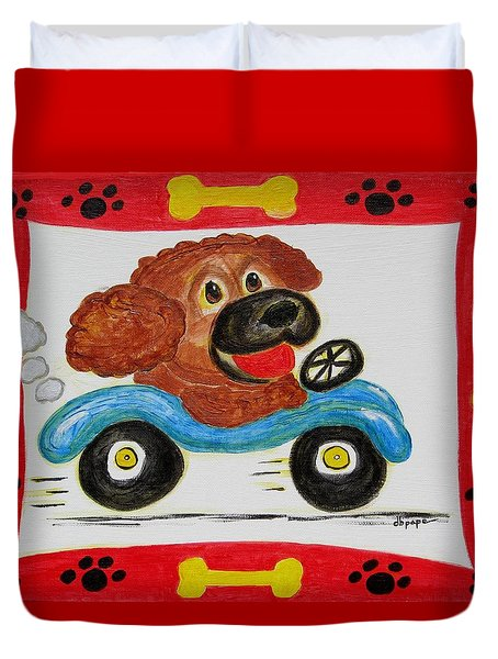 Joy Ride Duvet Cover