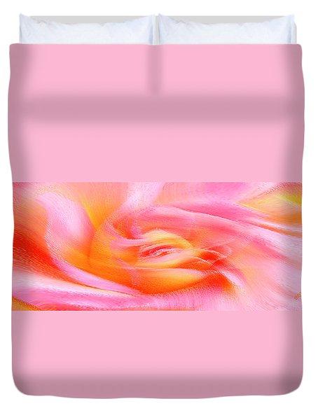 Joy - Rose Duvet Cover